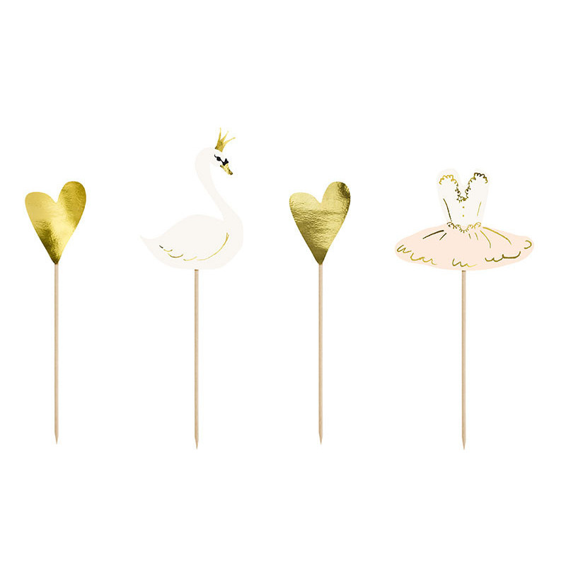 Cake Toppers Lovely Swan - Partydeco