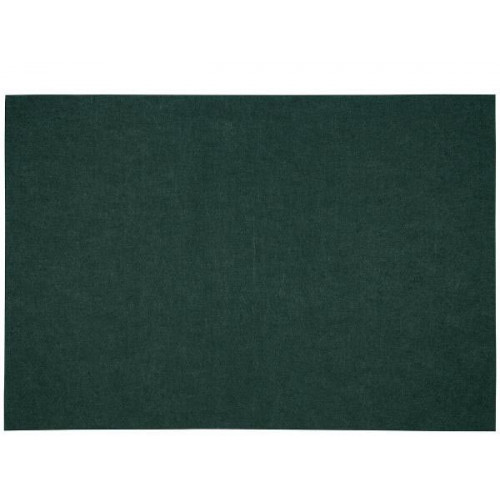 Bordstablett i polyester mörkgrön, 33 x 48 cm