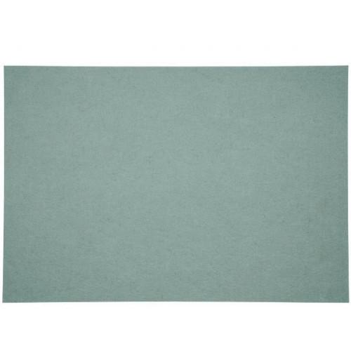Bordstablett i polyester teal, 33 x 48 cm