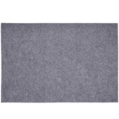 Bordstablett i polyester grå, 33 x 48 cm