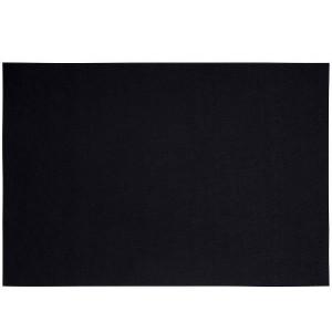 Bordstablett i polyester svart, 33 x 48 cm
