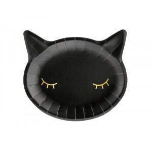 Papperstallrikar Katt - PartyDeco