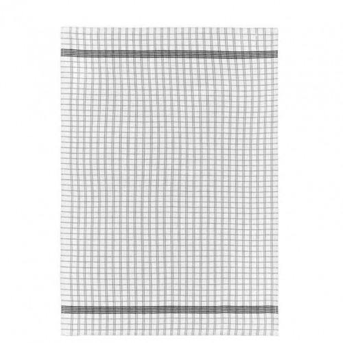 Kökshandduk 50x70 cm Svart/vit, Simplicity - Södahl