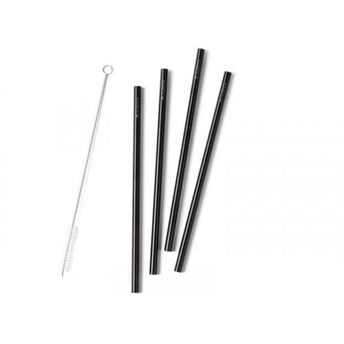 Nuance Sugrör i Rostfritt stål 21,5 cm, 4st