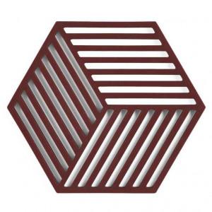 Grytunderlägg Hexagon, Raisin - Zone Denmark