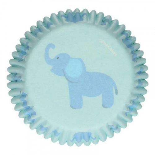 Muffinsform Baby Boy, Blå - FunCakes