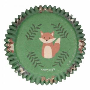Muffinsform Skogsdjur - FunCakes