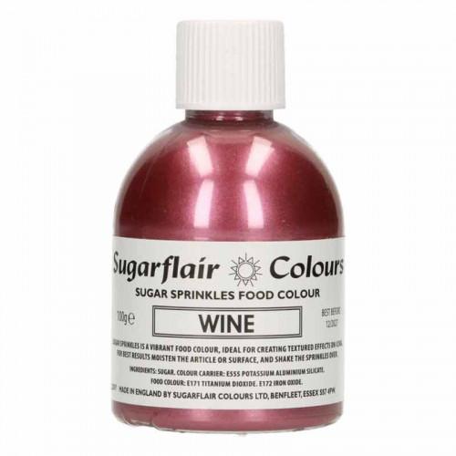 Färgat Socker, Wine Rosa - Sugarflair
