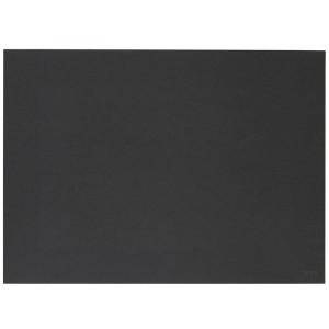 Bordstablett Lino 40 x 30 cm, Svart - Zone