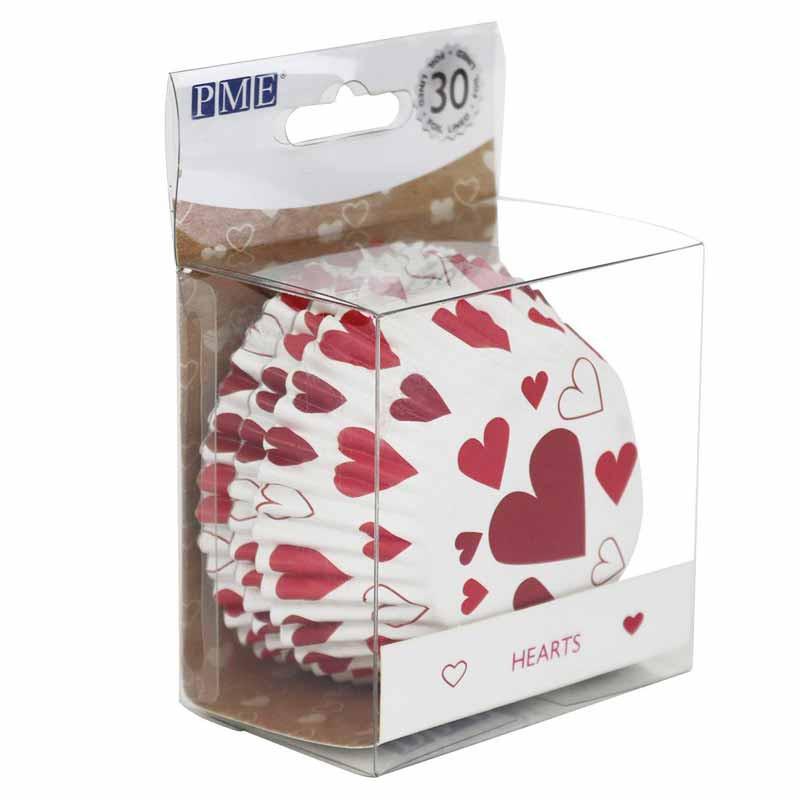 Muffinsform Hjärtan - PME
