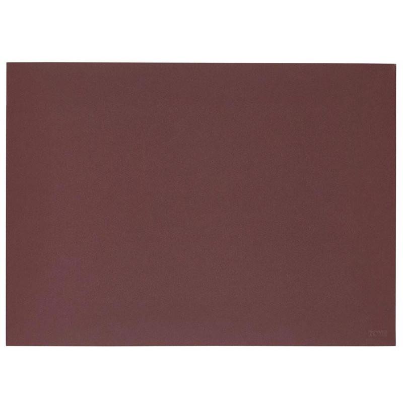 Bordstablett Lino 40 x 30 cm, Burgundy - Zone
