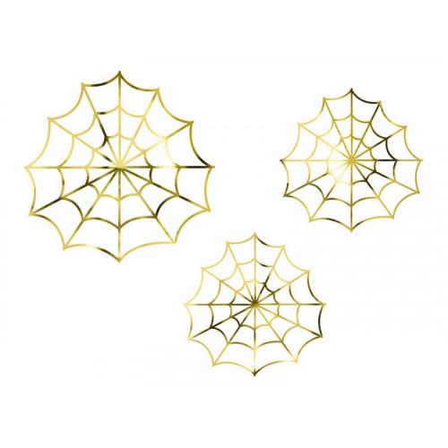 Pappersdekoration Spindelnät - PartyDeco