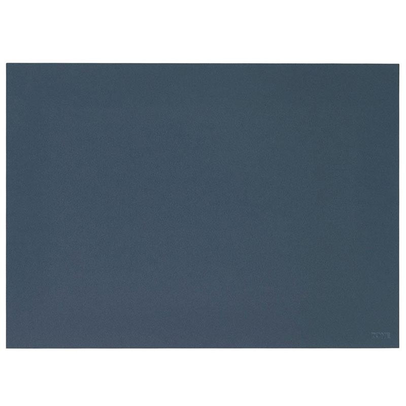 Bordstablett Lino 40 x 30 cm, Smokey Blue - Zone