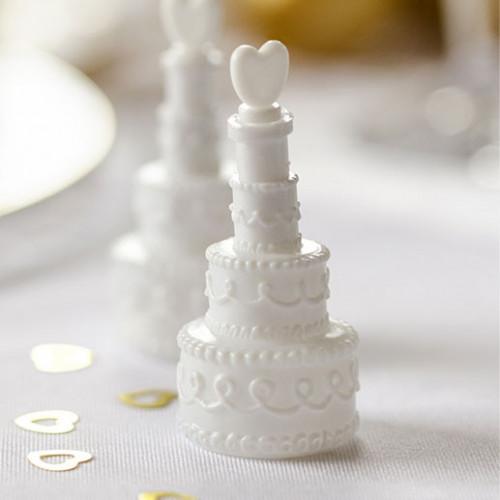 Såpbubblor till Bröllop, Tårta 4 st - Partydeco
