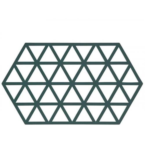 Grytunderlägg Triangle 24x14 cm, Cactus - Zone Denmark