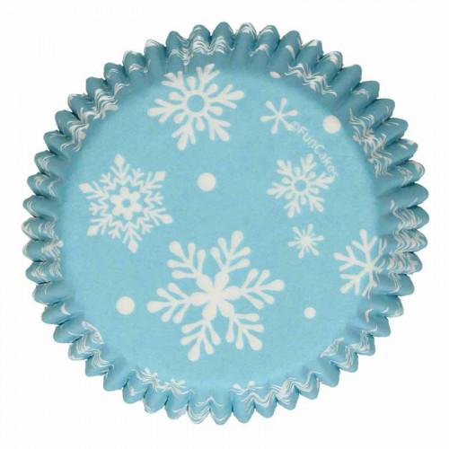 Muffinsform Frozen, Snöflingor - FunCakes