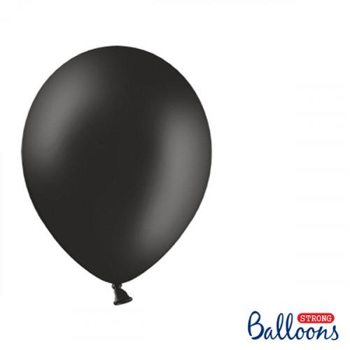 Ballonger Pastell Svart, 27cm - PartyDeco