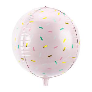 Folieballong Rund Strössel - PartyDeco