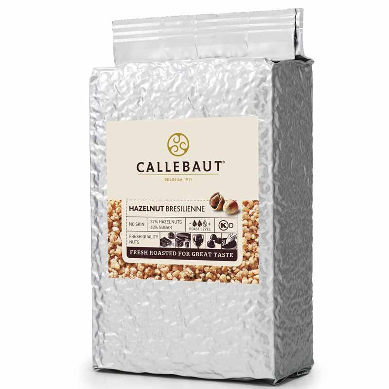 Bresilienne Hasselnötter 1 kg - Callebaut