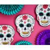Papperstallrikar Dia de los Muertos - PartyDeco