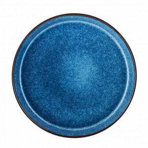 BITZ Gastro Tallrik 27 cm, Svart/Mörkblå