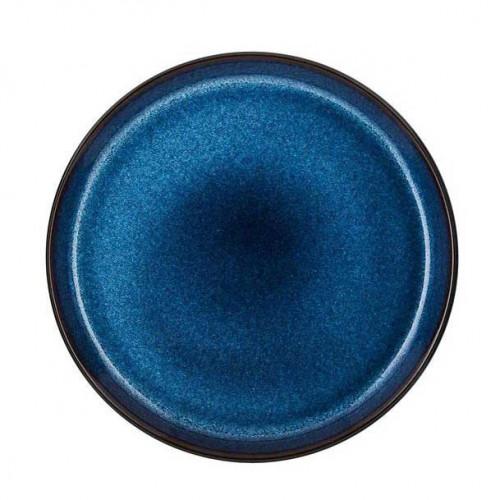 BITZ Gastro Tallrik 21 cm, Svart/Mörkblå