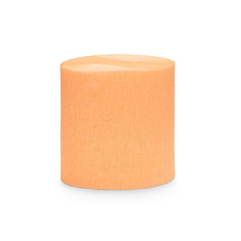Crepepapper Dekorationspapper Orange - PartyDeco