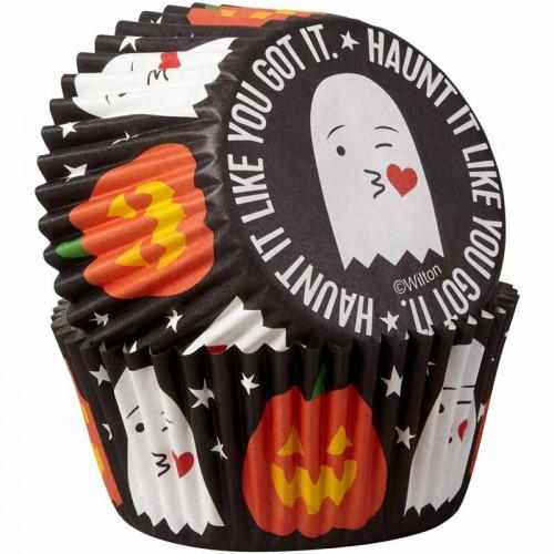 Muffinsform Spöke & Pumpa - Wilton