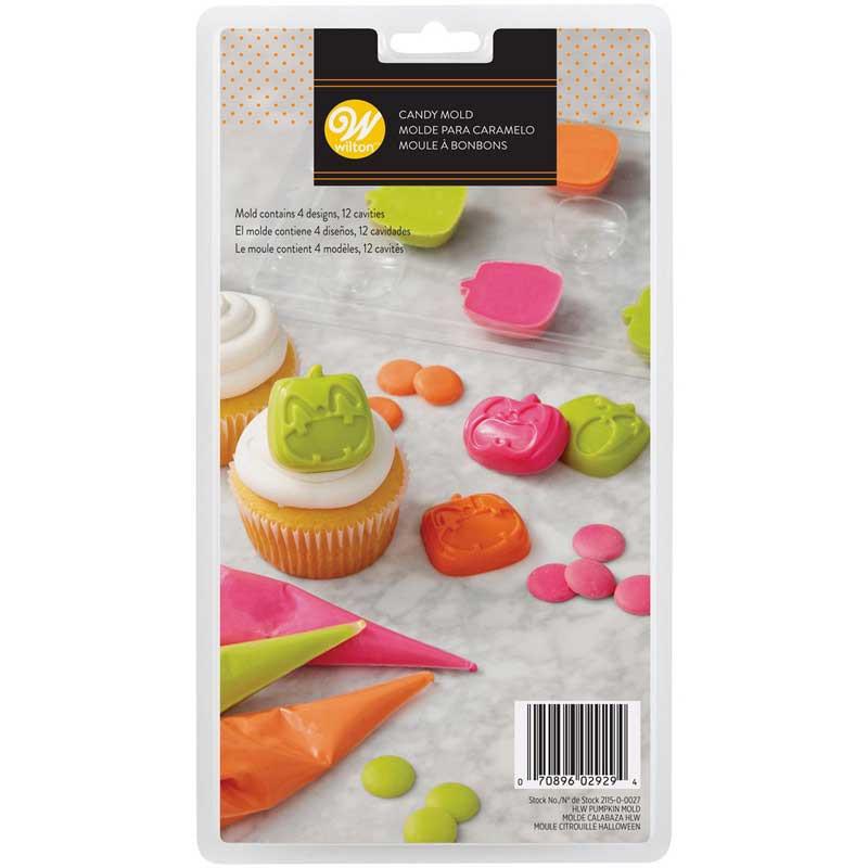 Chokladform Pumpa, Candy Mold - Wilton