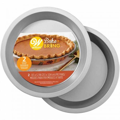 Bakform 2-pack rund, Höst - Wilton Bake + Bring