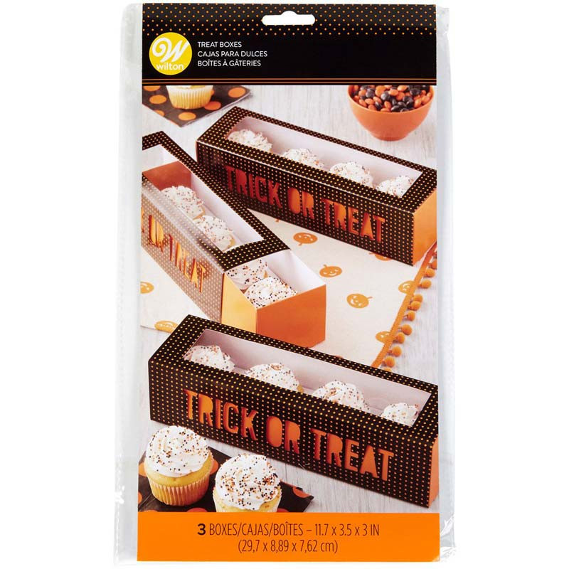 Cupcake box Halloween Trick or Treat - Wilton