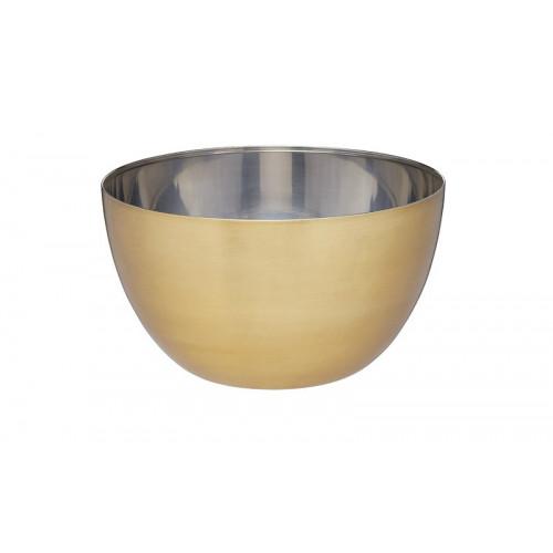 Skål Rostfritt stål, mässingsfinish - MasterClass