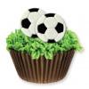 PME Tårtdekorationer Fotboll, ätbara