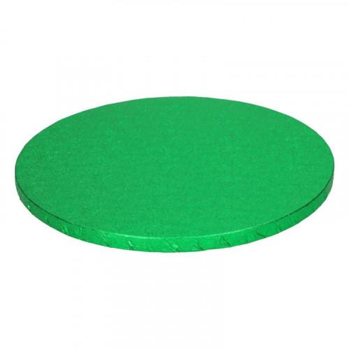Grön tårtbricka, 25 cm - FunCakes
