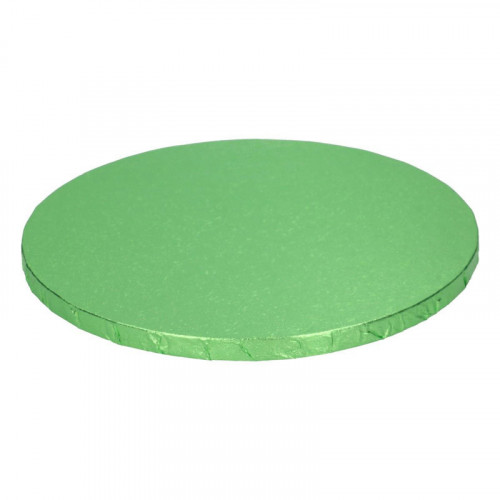 Ljusgrön tårtbricka, 25 cm - FunCakes