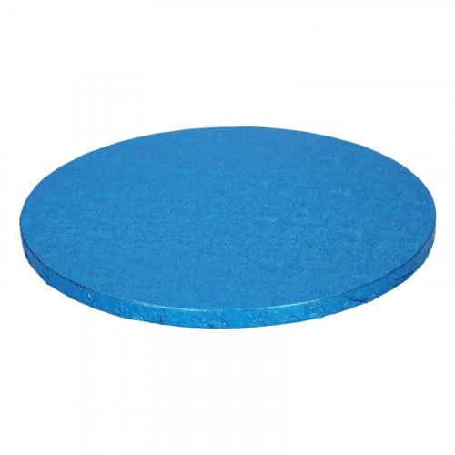 Blå tårtbricka, 25 cm - FunCakes