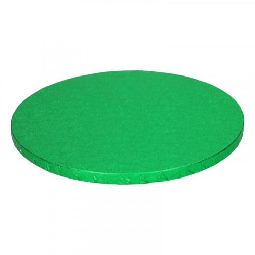 Grön tårtbricka 30,5 cm - FunCakes