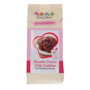 Double Choco Chip Cookies mix - FunCakes
