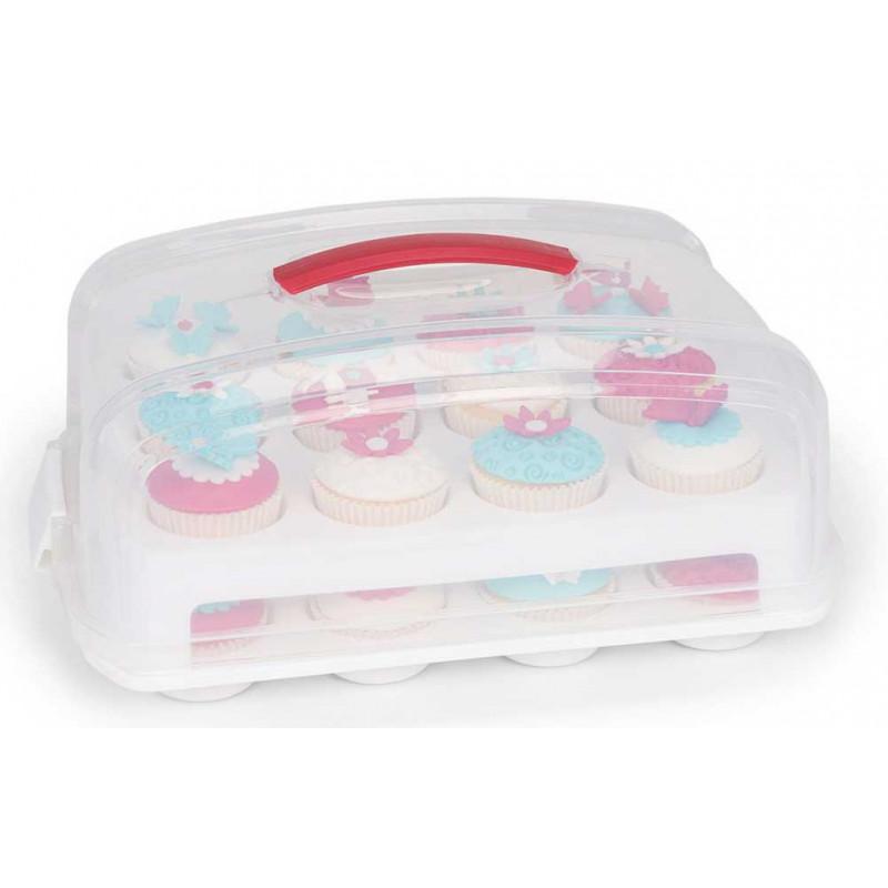 Cupcake box med handtag