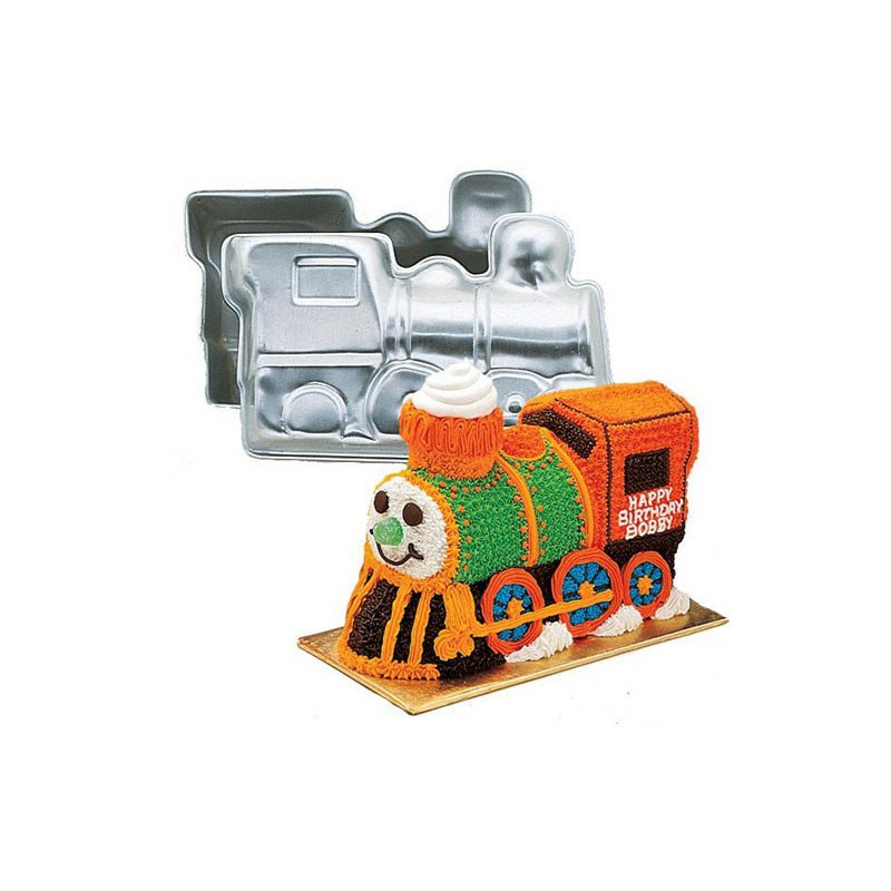 Bakform 3D Train Cake Pan - Wilton