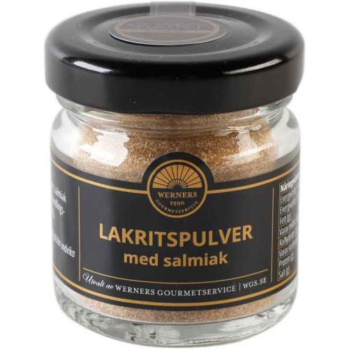 Lakritspulver med salmiak