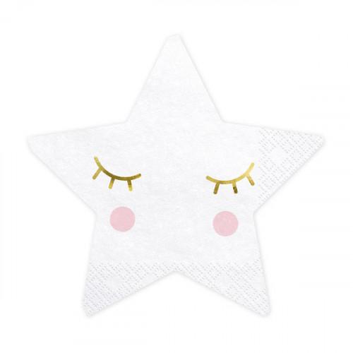 Servetter Little Star - PartyDeco