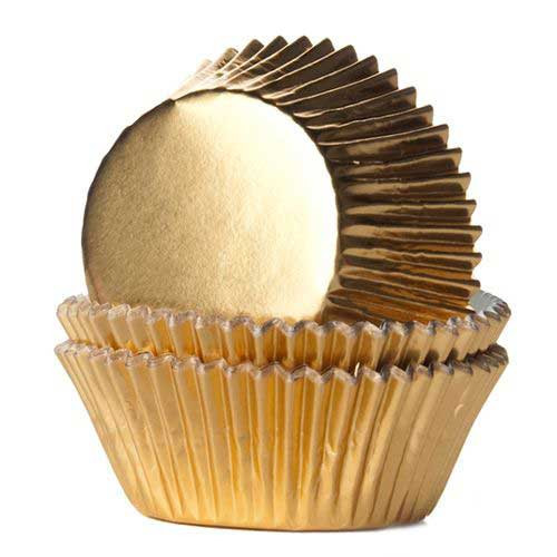 Muffinsform Guld Folie - House of Marie