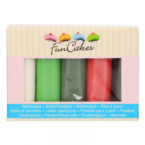 Sockerpasta Multipack Jul - FunCakes