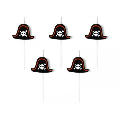 Tårtljus Pirater - PartyDeco