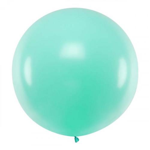 Jumboballong mintgrön 1 m - PartyDeco