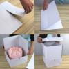 Tårtkartong extender, justerbar höjd - PME