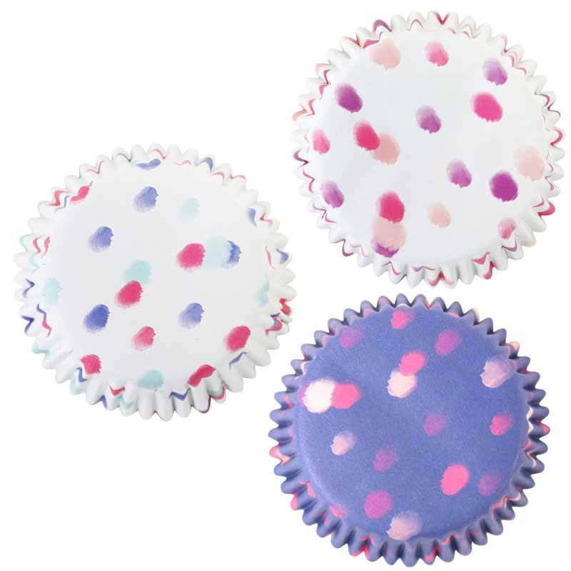 Muffinsformar i folie prickig - PME