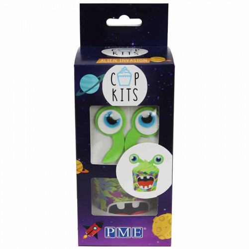 Cupcake kit Alien Invasion - PME