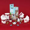 Cupcake kit Snögubbe - PME